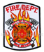 US Abzeichen Firefighter - NEW MEXICO
