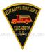 US Abzeichen Firefighter - Elizabeth