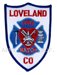 US Abzeichen Firefighter - Loveland co