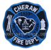 US Abzeichen Firefighter - Cheraw 1820