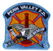 US Abzeichen Firefighter - Penn Valley F.D