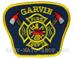 US Abzeichen Firefighter - Garvin Fire
