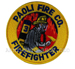US Abzeichen Firefighter - Paoli Fire Co.