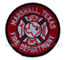 US Abzeichen Firefighter - Marshall Texas