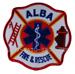 US Abzeichen Firefighter - Alba
