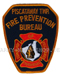 US Abzeichen Firefighter - Fire Prevention Bureau