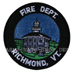 US Abzeichen Firefighter - Richmond, VT
