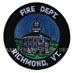 US Abzeichen Firefighter - Richmond, VT