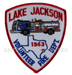 US Abzeichen Firefighter - Lake Jackson