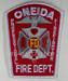 US Abzeichen Firefighter - Onaida Professional
