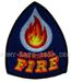US Feuerwehr Abzeichen - San Rafael