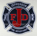 US Abzeichen Firefighter - Jefferson