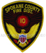 US Abzeichen Firefighter - Spokane County