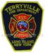 US Abzeichen Firefighter - Terryville N.Y
