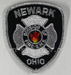 US Abzeichen Firefighter - Newark Ohio