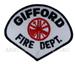 US Abzeichen Firefighter - Gifford