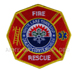 US Abzeichen Firefighter - White Lake Township