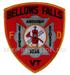 US Abzeichen Firefighter  - Bellows Falls 1825