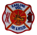 US Abzeichen Firefighter - Earling Vol.
