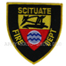 US Abzeichen Firefighter - Scituate