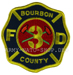 US Abzeichen Firefighter - Bourbon County