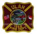 US Feuerwehr Abzeichen - Ulah 1968