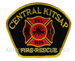 US Abzeichen Firefighter - Central kitsap 1999