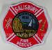 US Abzeichen Firefighter - Salisbury