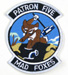 U.S. Abzeichen POTRON FIVE MAD FOXES