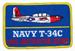 U.S. Abzeichen - Navy T-34C
