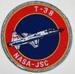 US Abzeichen Nasa-JSC T-38