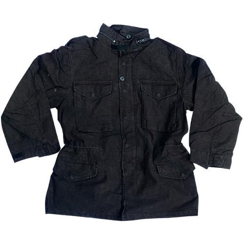 M65 Fieldjacket NYCO vorgewaschen schwarz