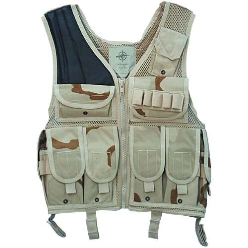 Tacical Vest 3-colour-desert