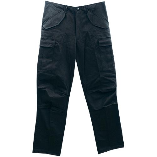M65 Pant NYCO ungewaschen schwarz