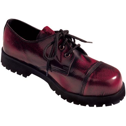 Boots & Braces 3-loch,burgundy rub-off,
