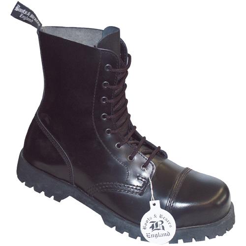 Boots & Braces 8-loch ,schwarz