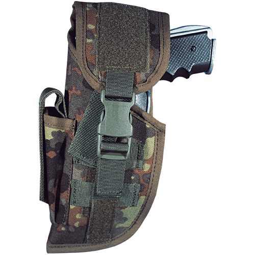 BW-Tactical Holster P8 rechts, FLECKTARN