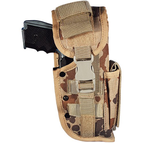 BW-Tactical Holster P8 rechts ,tropentarn