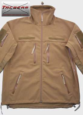TacGear Soft Shell Jacke