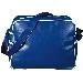 PVC Bag Retro uni ,blau/weiss
