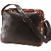 PVC Bag Retro uni , schwarz/rot
