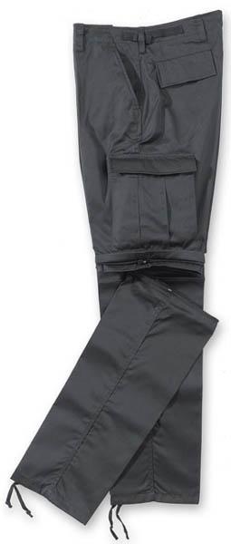 Kombi-Hose Zipp-Off  - schwarz