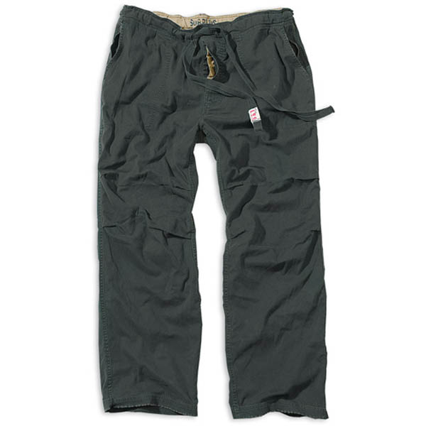 Athletic Vintage Trousers - schwarz gewaschen