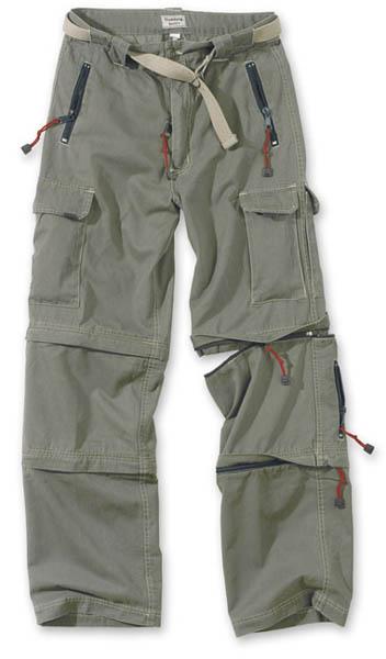 Trekking Trousers - oliv