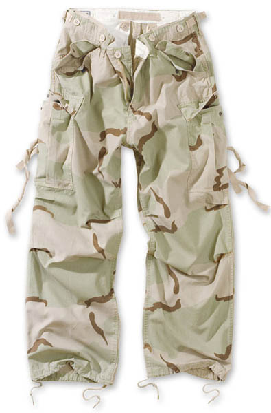 Vintage Fatigues Trousers - 3-Farben desert