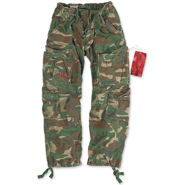 Airborne Vintage Trousers - woodland