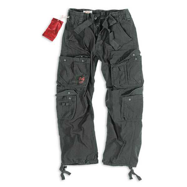 Airborne Vintage Trousers - schwarz