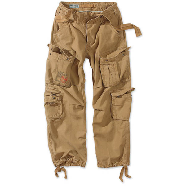 Airborne Vintage Trousers - sand
