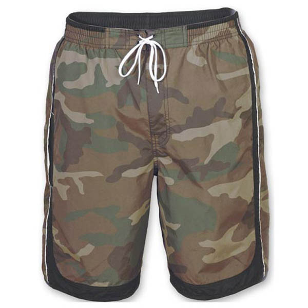 Swim Shorts - woodland/schwarz
