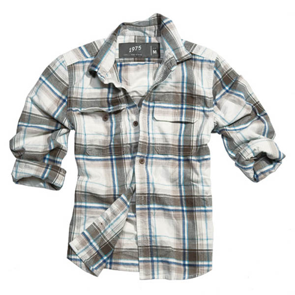 Wood Cutter Shirt - braun karo